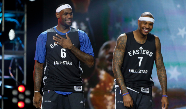 The Hawks are one of many teams trying to pair the superstar duo of Carmelo and LeBron together this summer.