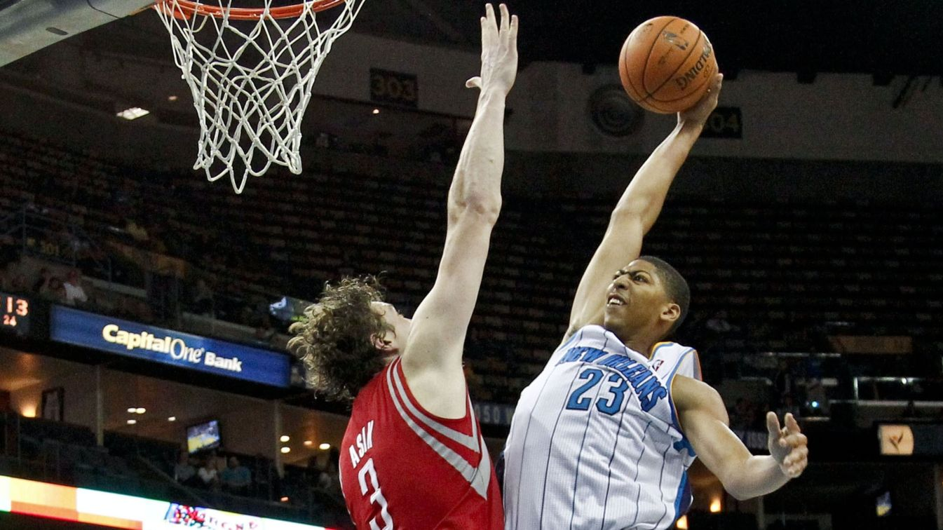 Davis and Asik, two of the best defensive big men in the league, will be teaming up come next season